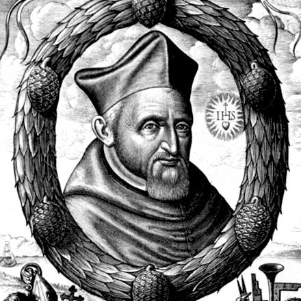Portrait of Saint Robert Bellarmino (1542-1621)